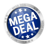 Button Mega Deal Royalty Free Stock Images