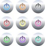button moc ilustracji