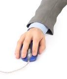 a button on a mouse. Royalty Free Stock Photos