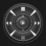 button multimedior vektor illustrationer
