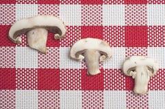 Button Mushroom Food Background Stock Photo