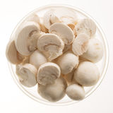 Button Mushrooms Isolated Royalty Free Stock Photos