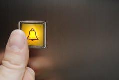button nöd Fotografering för Bildbyråer