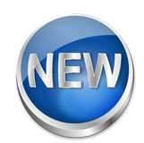 Button New Royalty Free Stock Images