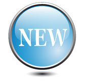 Button new Royalty Free Stock Image