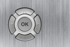 Button OK Royalty Free Stock Photo