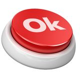 Button Ok Royalty Free Stock Image