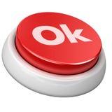 button ok Стоковое Изображение RF
