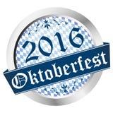 Button Oktoberfest 2016 Stock Image