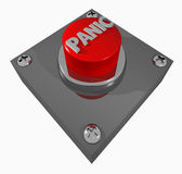 Button_PANIC Foto de Stock Royalty Free