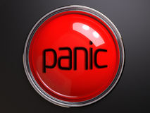 Button panic. Push button panic in the life Royalty Free Stock Photos
