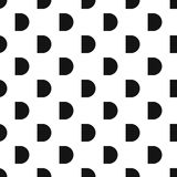 Button pattern, simple style Stock Photos
