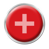 Button Plus Royalty Free Stock Photo
