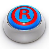 Button protected trademark Royalty Free Stock Photo