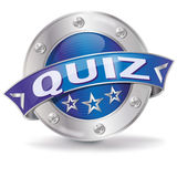 Button Quiz Royalty Free Stock Image