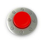 button red Arkivbilder