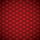 Button Red Leather abstract Luxury background vector illustration Stock Photography