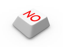 Button for rejection Stock Image