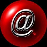 button reklamy sieci Zdjęcie Stock