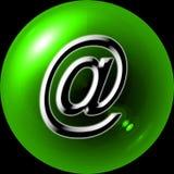 button reklamy sieci Obrazy Royalty Free