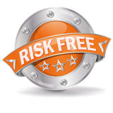 Button risk free Royalty Free Stock Images