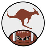 Button rugby Royalty Free Stock Photos