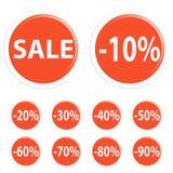 Button sale Royalty Free Stock Photos