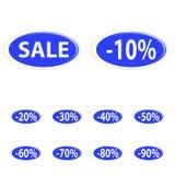 Button sale Stock Images