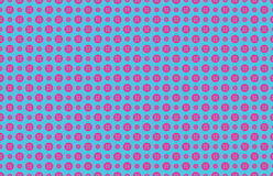 Button seamless pattern. Seamless Pattern of pink buttons on blue background. Available in JPG and Vector EPS format Stock Image