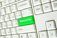 Button security Stock Photo