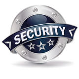 Button security Stock Image