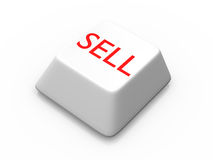 Button for sell Royalty Free Stock Image