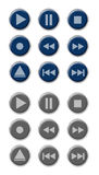 Button Set Royalty Free Stock Images