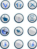 Button set. Button collection. 12 objects.Vector- Fully editable Stock Photo