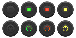 Button set Stock Image
