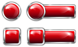 Button set Royalty Free Stock Photography