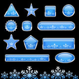 Button set vector Stock Images