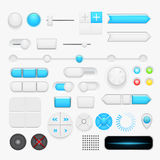 Button set. Vector Royalty Free Stock Image