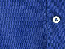 Button on shirt Stock Photo