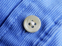 A button from a shirt royalty free stock photos