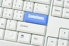 Button Solutions Stock Photos
