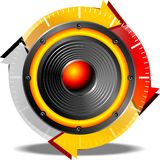 Button sound Royalty Free Stock Photos