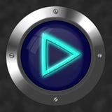 button spelrum Arkivbild
