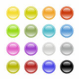 Button-Star Royalty Free Stock Images