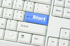 Button Start Royalty Free Stock Images