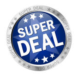 Button Super Deal Stock Images
