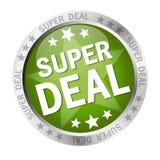 Button Super Deal Royalty Free Stock Photos