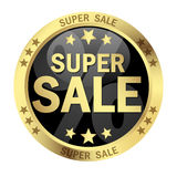 Button SUPER SALE Stock Photos