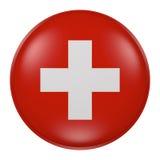 button Szwajcarii ilustracja wektor