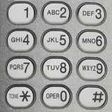 Button of telephone Stock Image